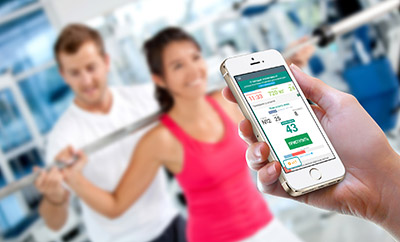 Online workout diary AtletIQ