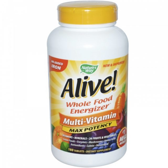 Whole Food Energizer Multi-Vitamin от Nature