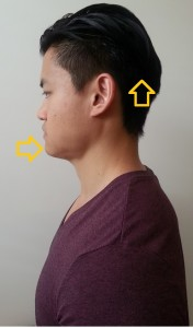 chin tuck exercise
