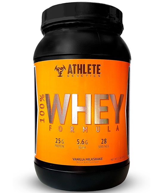 100 Whey Formula Athlete Genetics