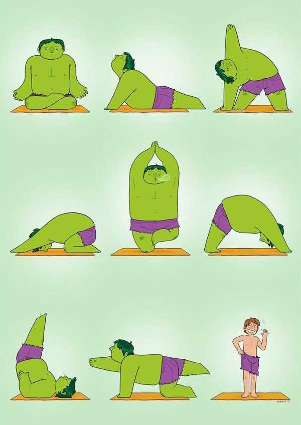 сообщают сми, йога юмор в картинках создания особого